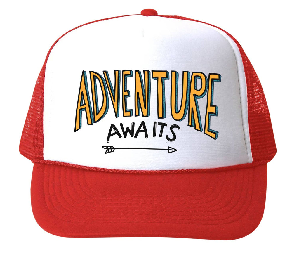 Bubu - Adventure Awaits Trucker Hat