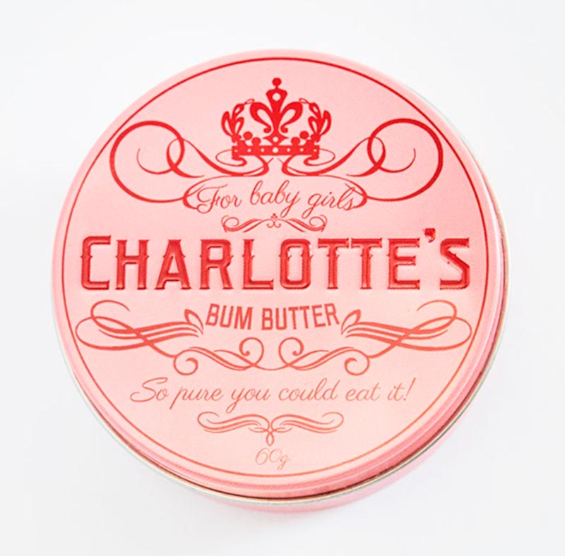 Charlotte's Bum Butter - Charlotte's Bum Butter for Girls