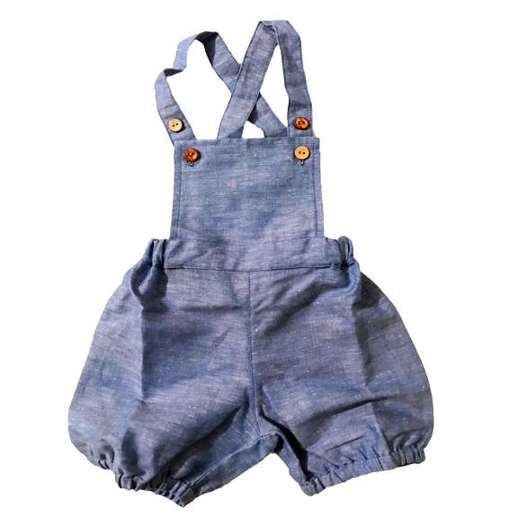 Noah's Ark - Breezy Overall in Blue