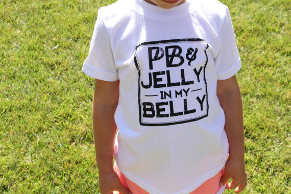 The Sprouted Arrow - PB & Jelly in My Belly Tee