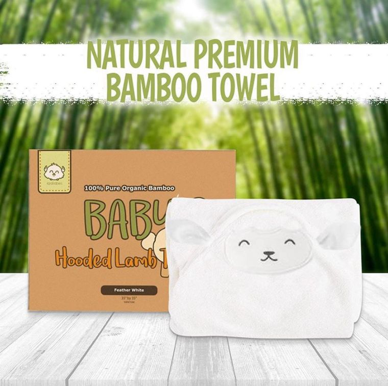Bamboo Hooded Towel (Lamb)
