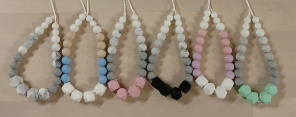 Urban Baby Boutique Silicone Teething Necklace