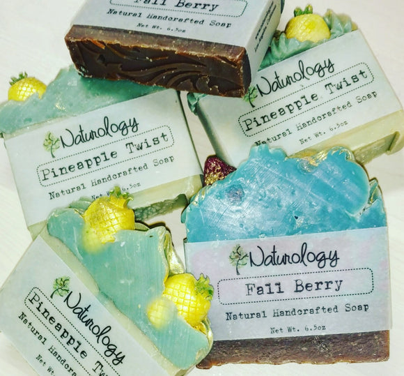 Naturology Handcrafted Fruit Scented Soaps