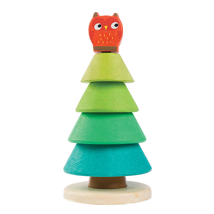 Tender Leaf Toys Stacking Fir Tree