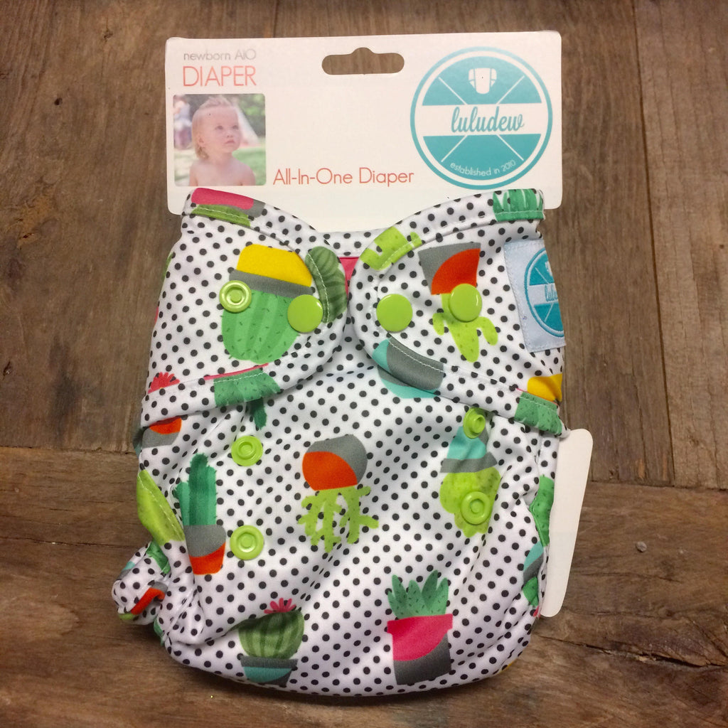 Luludew - Newborn All in one Diapers