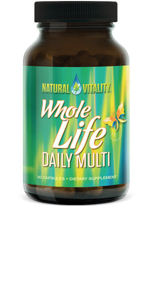 Natural Vitality - Whole Life Daily Multi 90-caps