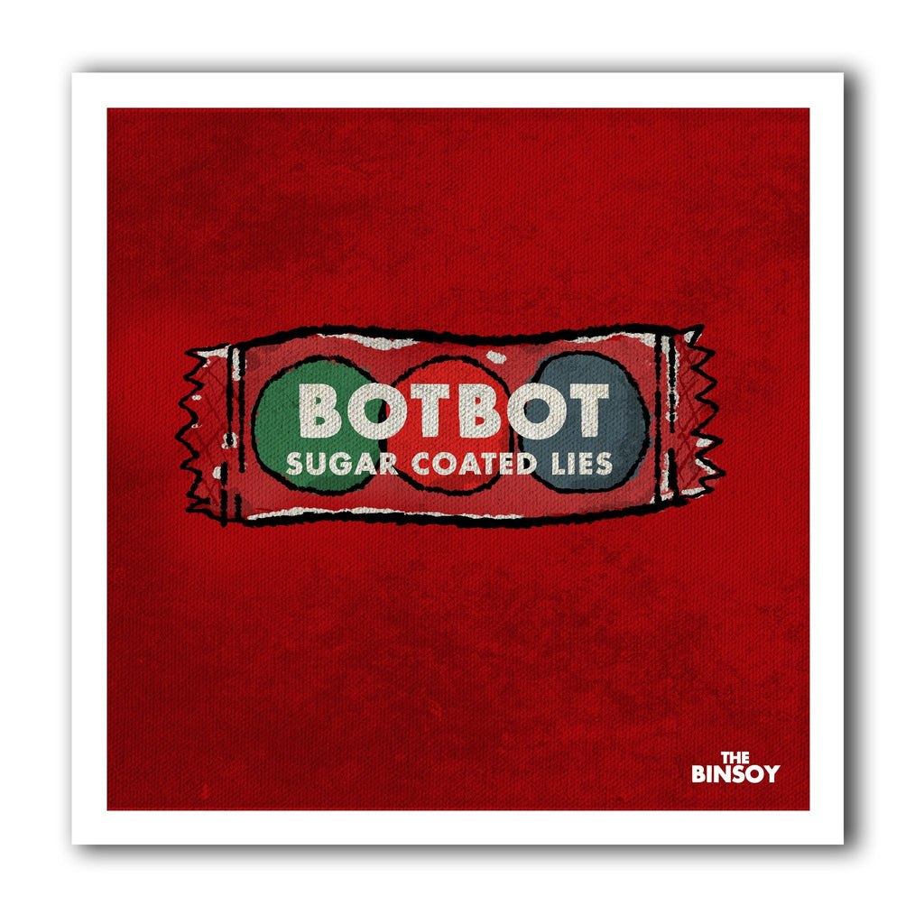 Botbot graphic sticker