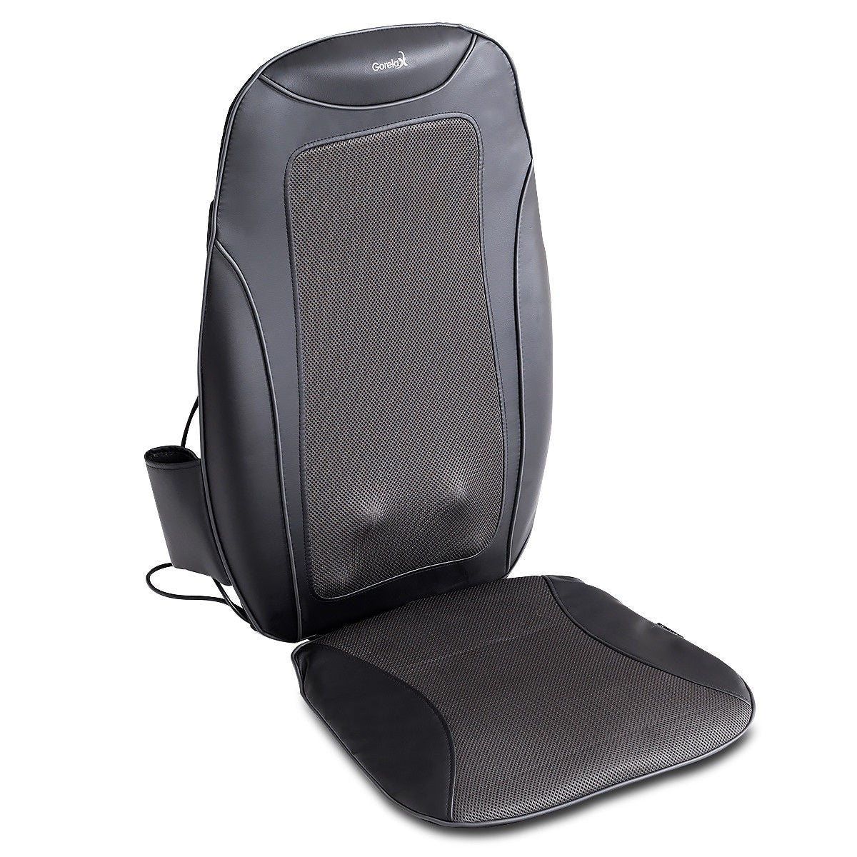 MedicPure Portable Shiatsu Heated Massage Seat Cushion