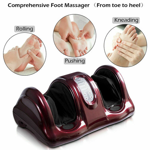 MedicPure Shiatsu Premium Foot Massage & Shoulder Heat Pad Bundle