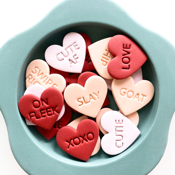 Valentine's Word Stamps