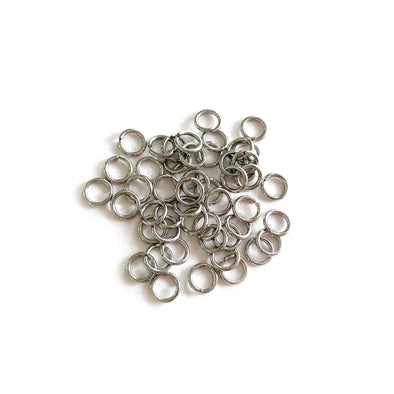5mm Silver Stainless Steel Jump rings