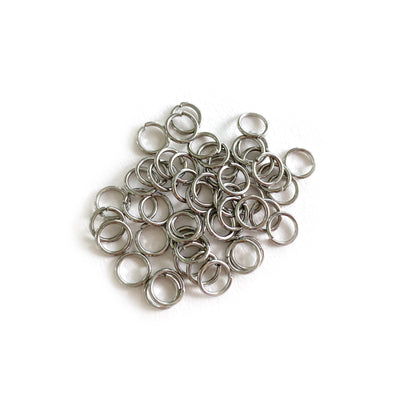 6mm Silver Stainless Steel Jump rings