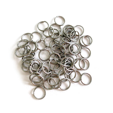 7mm Silver Stainless Steel Jump rings