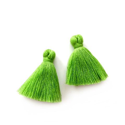 40mm Cotton Tassels - 1 pair (Spring)