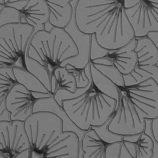 Texture Tile - Gingko Leaves Embossed