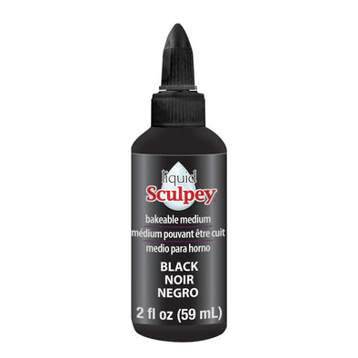 Sculpey Liquid Polymer Clay - Black (59ml)