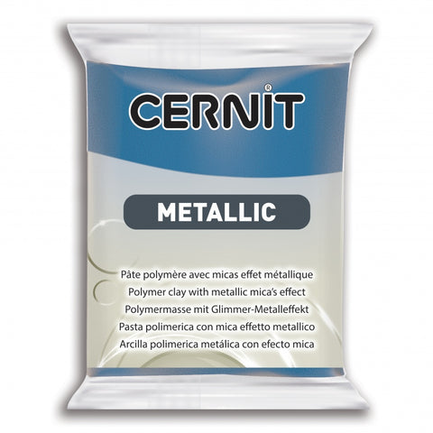 Cernit Metallic 56g - Blue