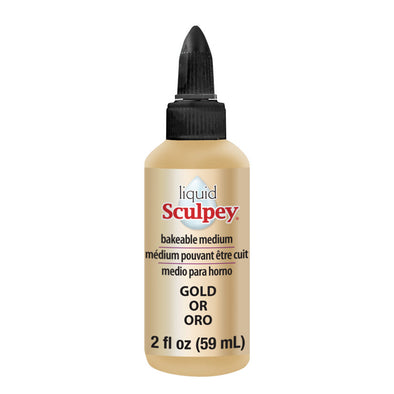 Sculpey Liquid Polymer Clay - Gold (59ml)