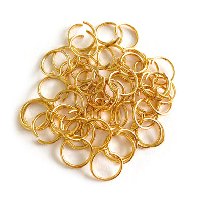 10mm Gold Stainless Steel Jump rings