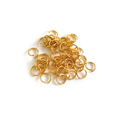 6mm Gold Stainless Steel Jump rings