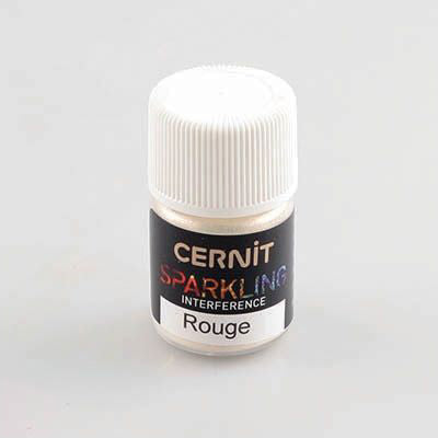 Cernit Sparkling - Interference Red 5g