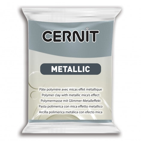 Cernit Metallic 56g - Steel
