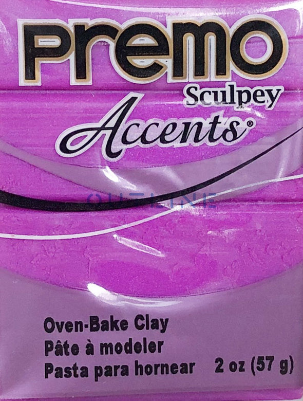 Premo 57g Polymer Clay - Accents Purple Pearl