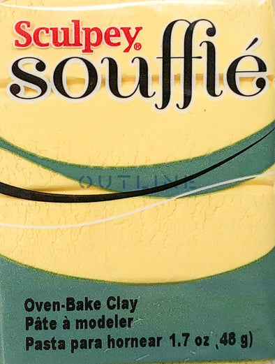 Souffle 48g Polymer Clay - Canary
