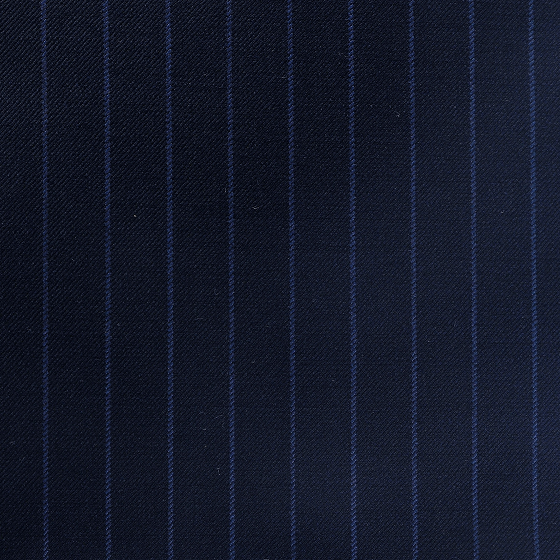 Navy with Blue Chalk Stripe Suit