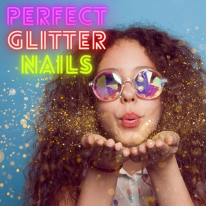 How to get the perfect glitter nails
