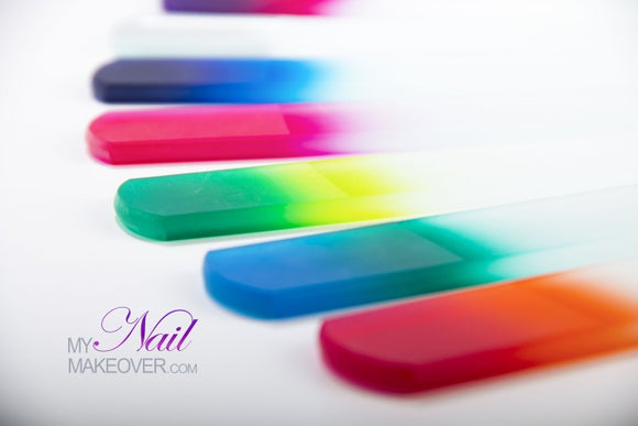 Crystal Glass Spa File - My Nail Makeover