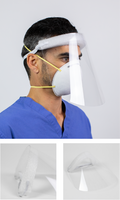 NATIONAL MASKS PROTECTIVE FACE SHIELDS (Packs of 10)