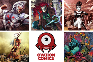The Ovation Comics Webstore is Live!