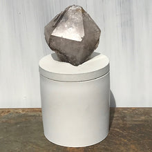 Load image into Gallery viewer, Smoky Quartz 1/2 Generator Lid Candle