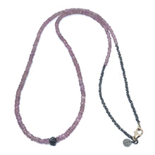 Load image into Gallery viewer, Lavender Sapphire Necklace