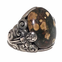Load image into Gallery viewer, Men's Ocean Jasper Ring