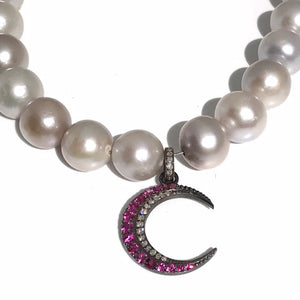 Pearl Necklace w/ Pendant