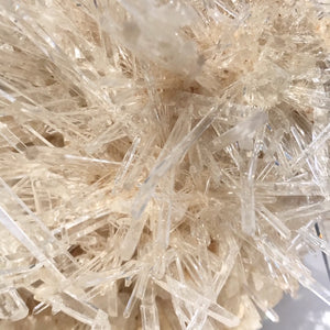 Quartz Crystal Generator Needle Cluster