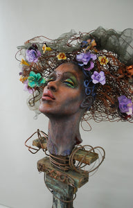 """Passion Flower"" Sculpture"