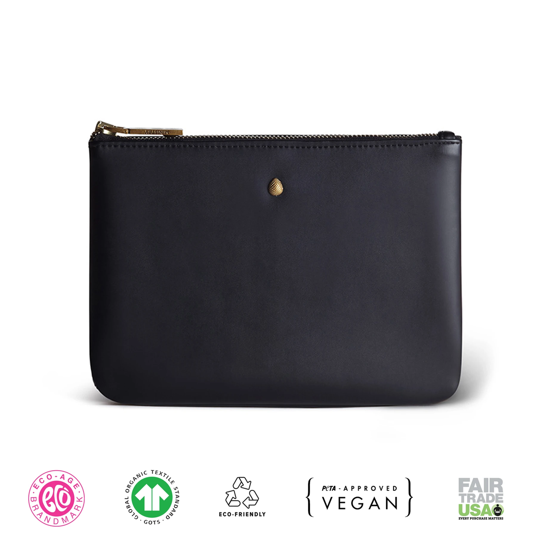 Vegan Leather Coin Pouch
