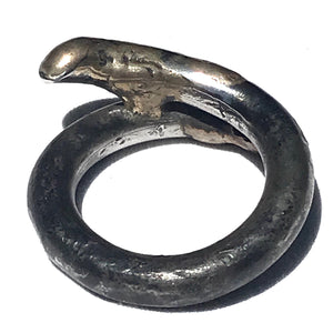 Bronzed Wrap Ring