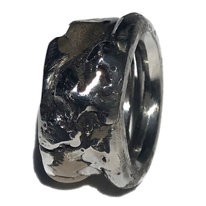 Men's Bronze Accent Ring