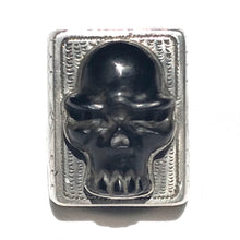 Load image into Gallery viewer, Men's Black Skull Ring
