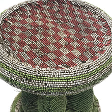 Load image into Gallery viewer, Multi-Color Beaded Stool