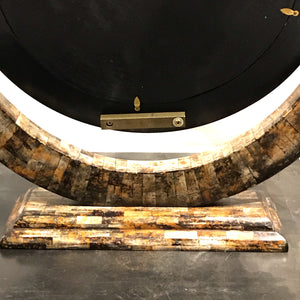 Tessellated Horn Table Mirror