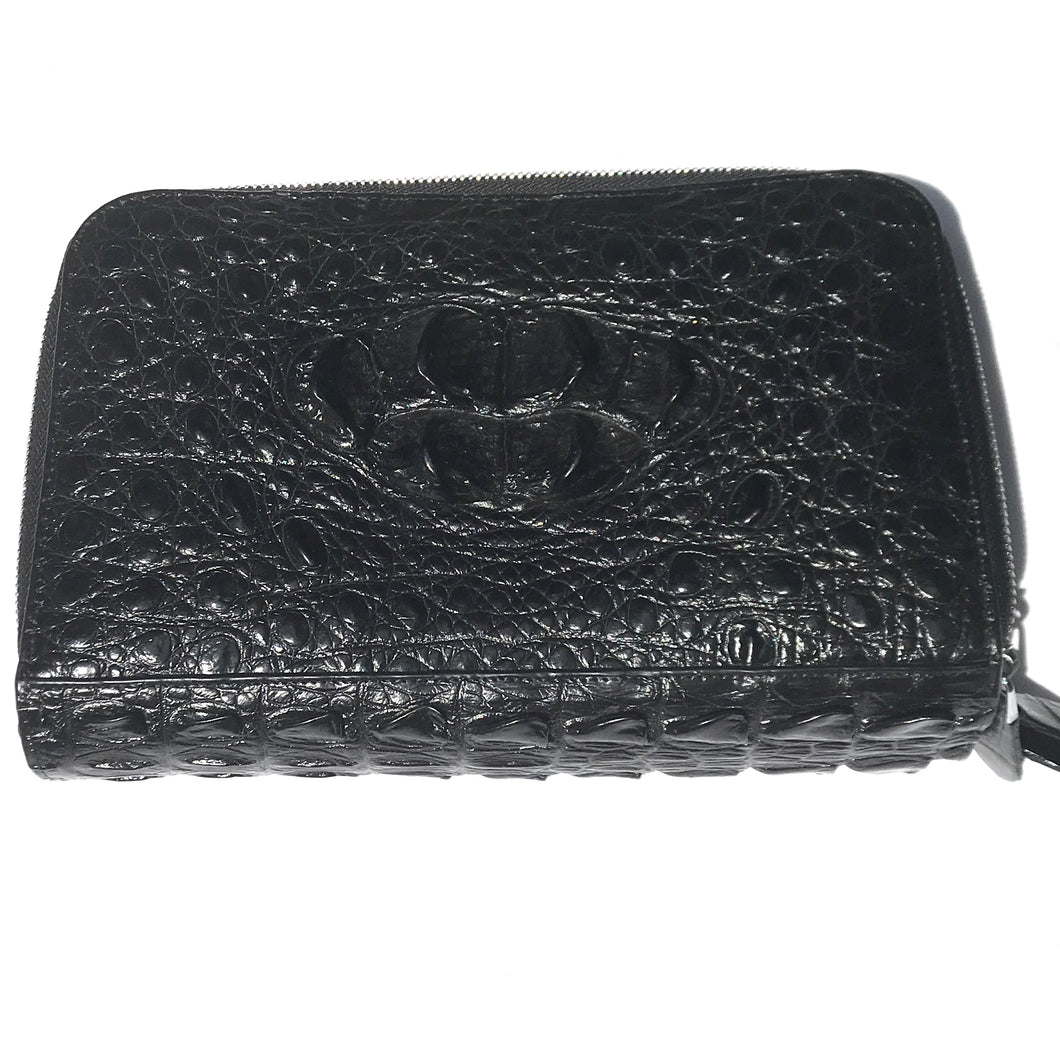 Crocodile 3-zip Bag
