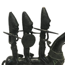 Load image into Gallery viewer, Pair of Bronze Warriors