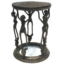 Load image into Gallery viewer, Bronze Ceremonial Stool