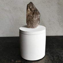 Load image into Gallery viewer, Smoky Quartz Crystal Candle