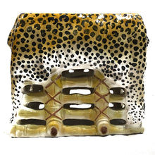 Load image into Gallery viewer, Pair of Italian Leopard Stools